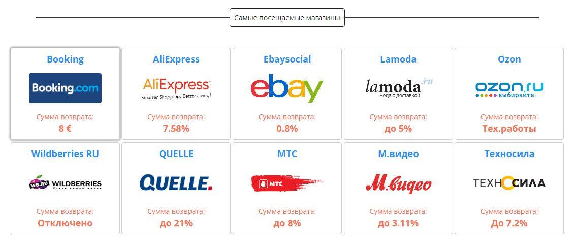 Кэшбэк в AliExpress от 5.5% - kopikot.ru