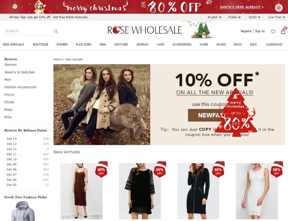 0e2856d58 Rose Wholesale — этот китайский магазин по продаже одежды. Всего его  посещаемость составляет около 10,5 млн. человек в месяц. Он занимает 3352  место в мире ...