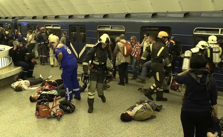 Теракт в метро Петербурга 03.04.2017